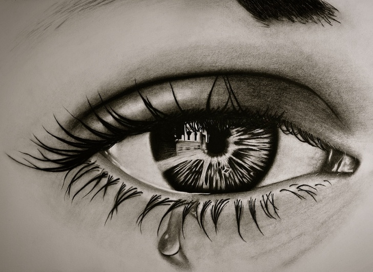 The Most Famous Realistic Charcoal Drawing Techniques for Beginners Realistic Eye Charcoal Drawing - Album On Imgur Photo