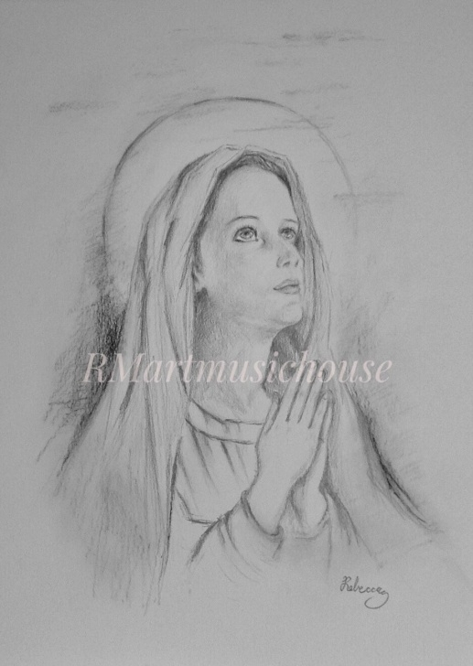 The Most Famous Religious Pencil Drawings Simple 9 X 12 Inches Pencil On Bristol | Religious Pencil Drawing | Pencil Image