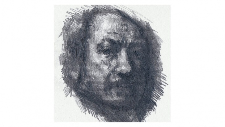 The Most Famous Rembrandt Pencil Drawings Courses Drawing - After Rembrandt - Realtime And Narrated Photo