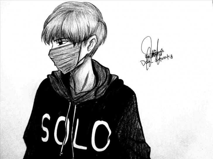 The Most Famous Sad Boy Pencil Art Tutorial Sketch Pencil Picture Alone Sad Boy In Rhdrawingartpickscom Sketches Images