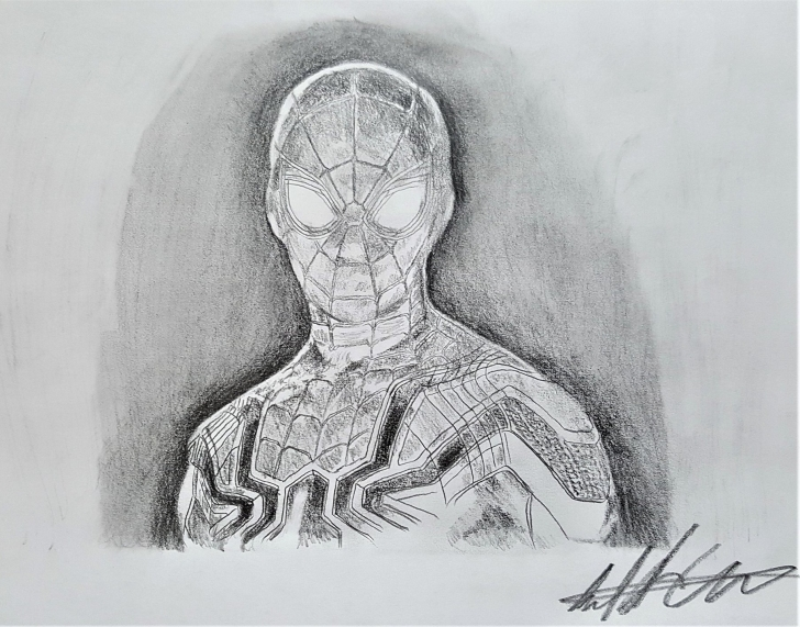 The Most Famous Spiderman Pencil Sketch Simple ?spider Man - Avengers Infinity War ✍ Pencil Sketch? — Steemit Image