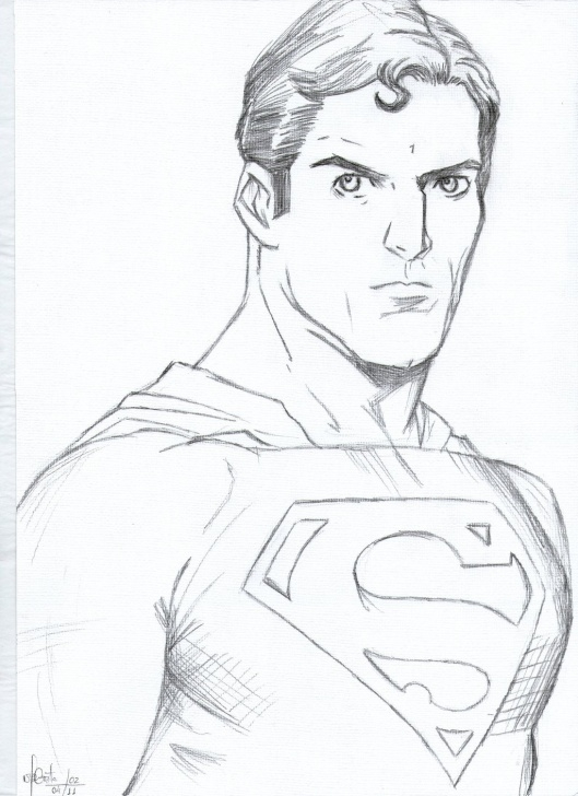 The Most Famous Superman Drawing In Pencil Techniques Superman Drawing Easy At Paintingvalley | Explore Collection Of Pic