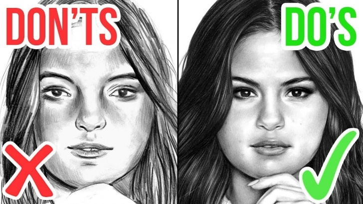 The Most Famous The Most Realistic Drawing Courses Do's & Don'ts: How To Draw A Face | Realistic Drawing Tutorial Step By Step Photo