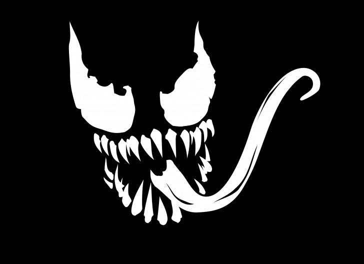 The Most Famous Venom Stencil Art Tutorial Pin By Rob Phillips On Hallows Eve In 2019 | Pumpkin Template, Face Photo