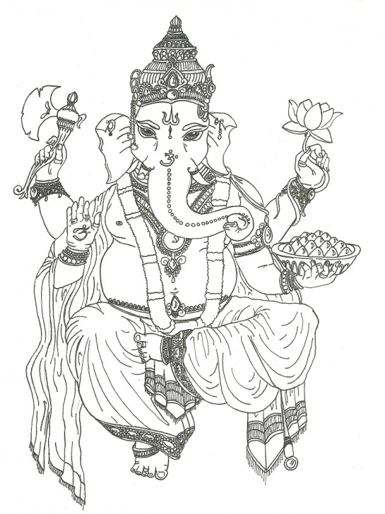 The Most Famous Vinayagar Pencil Drawing Easy Free God Ganesh Drawings, Download Free Clip Art, Free Clip Art On Pictures