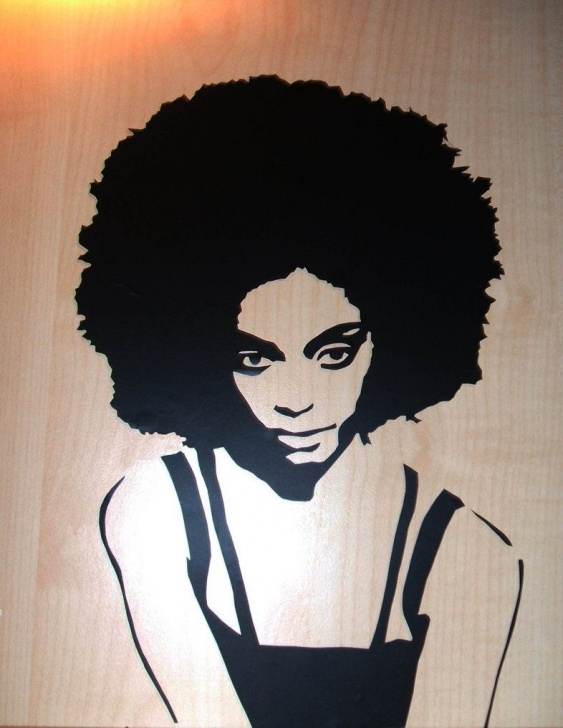 The Most Famous Woman Stencil Art Easy Stencil Art Woman | Thinking About Stencils | Art, Stencil Art Photo