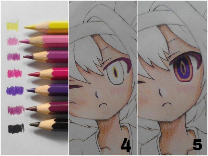 Top Anime Colored Pencil Step by Step Tutorial 1: Coloring Tutorial!!! (Colored Pencils) | Anime Amino Photo