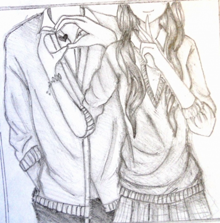 Top Anime Love Sketch Lessons Love Anime Sketch At Paintingvalley | Explore Collection Of Love Pictures