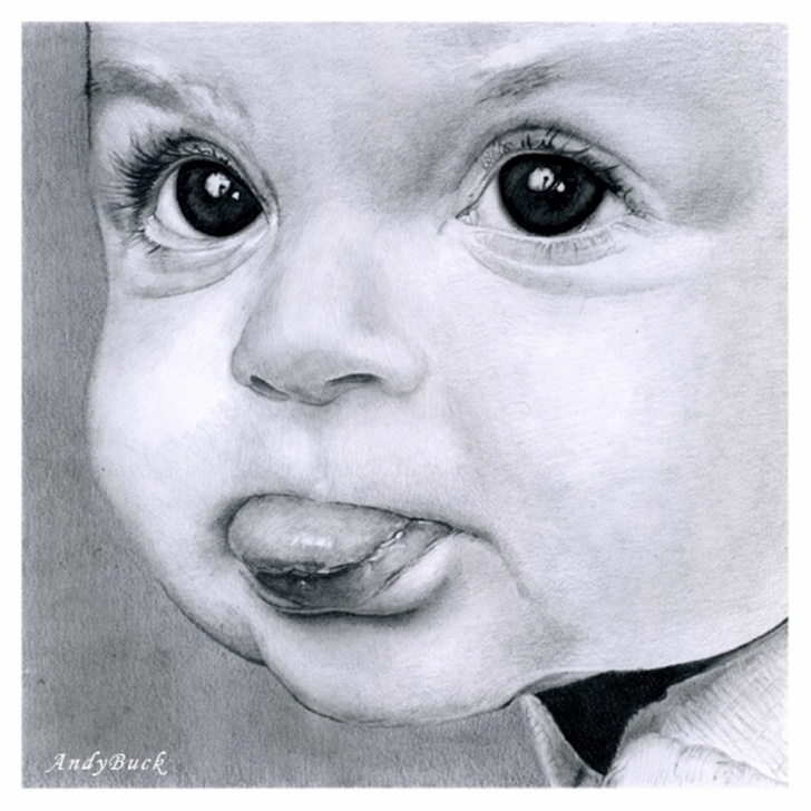 Top Baby Drawings In Pencil Techniques for Beginners Baby Sketches In Pencil At Paintingvalley | Explore Collection Pictures
