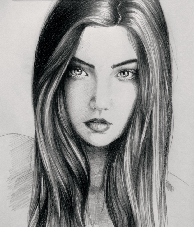 Beautiful Sketches Of Girl