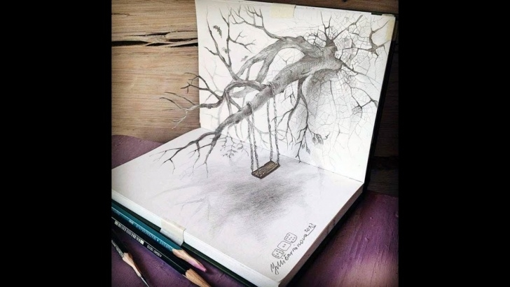 Top Best Drawings Of All Time Tutorials 30 Of The Best 3D Pencil Drawings Pictures