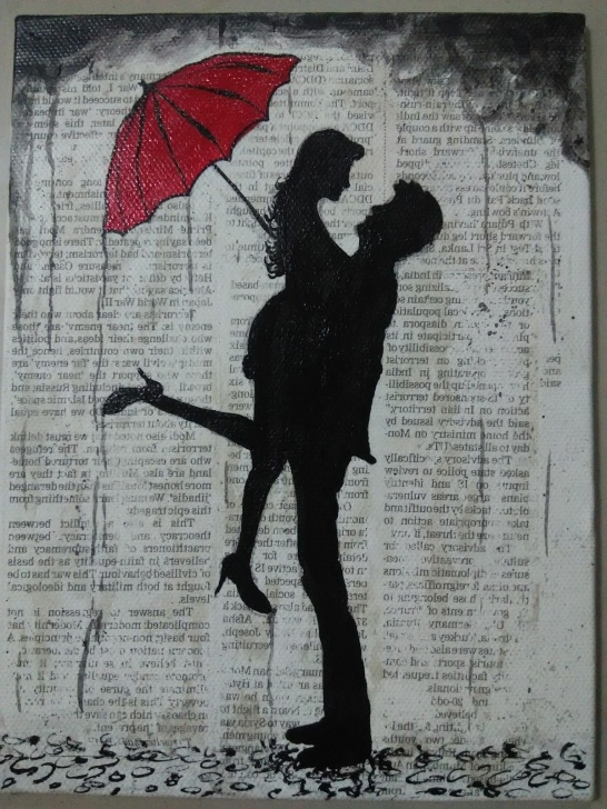 Top Boy And Girl Image Love In Rain Pencil Simple Umbrella Couple Pic In Pencil Painting | We Love Art | Drawings Pic