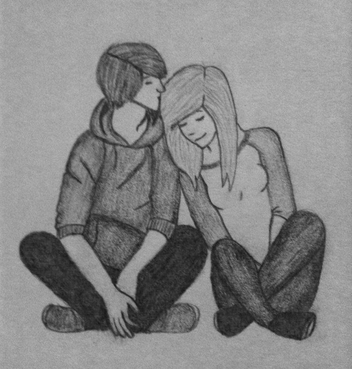 Top Cute Love Sketches Ideas Cute Love Sketches At Paintingvalley | Explore Collection Of Images
