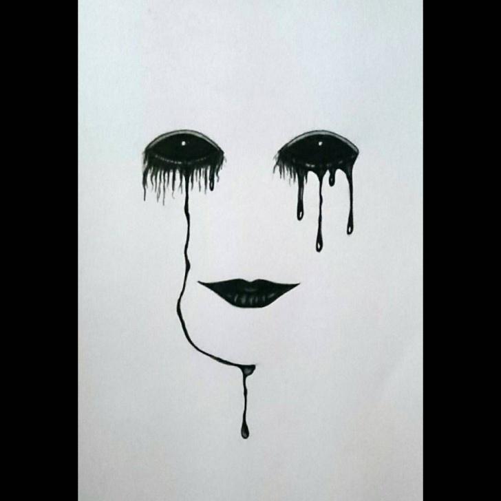 Top Dark Pencil Drawings Techniques for Beginners Image Result For Dark Sad Drawings | Lisa | Dark Art Drawings, Sad Pics