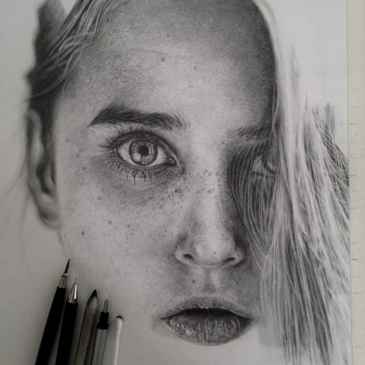 Detailed Pencil Drawings