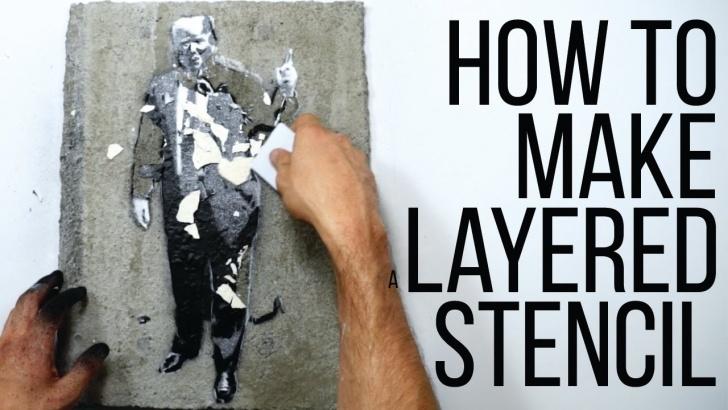 Top Diy Graffiti Stencils Tutorial How To Make A Layered Stencil Picture