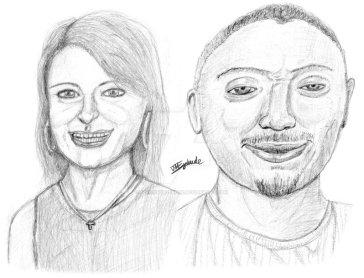 Top Family Pencil Sketch Easy Portraits Of An Unbreakable Family (Pencil Sketch) By Mysteryezekude Picture
