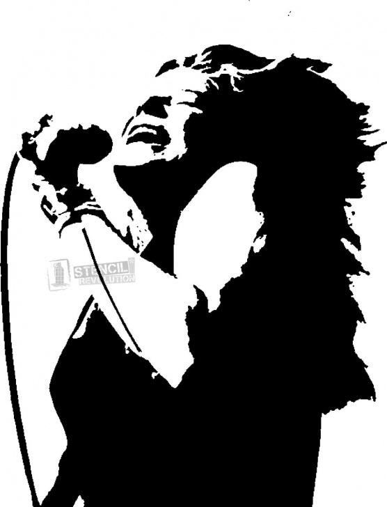 Top Free Stencil Art Simple Download Your Free Janis Joplin Stencil Here. Save Time And Start Images