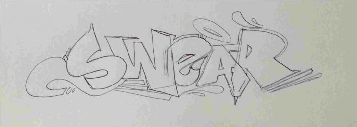Top Graffiti Pencil Drawing Free Easy Graffiti Pencil Drawings Pencil Sketches Easy Wall Drawing Photos