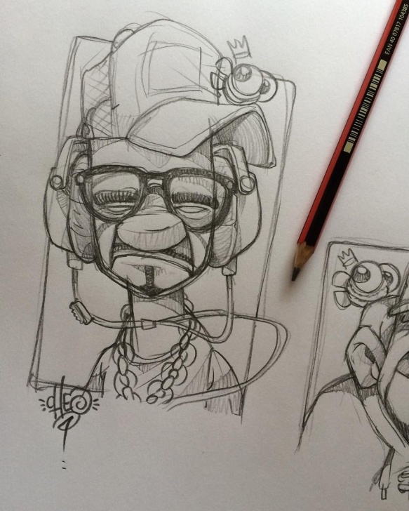 Top Graffiti Pencil Drawing Tutorial Old Misery Guts #cheo #doodle #sketch #pencil | Drawing, Painting Pic