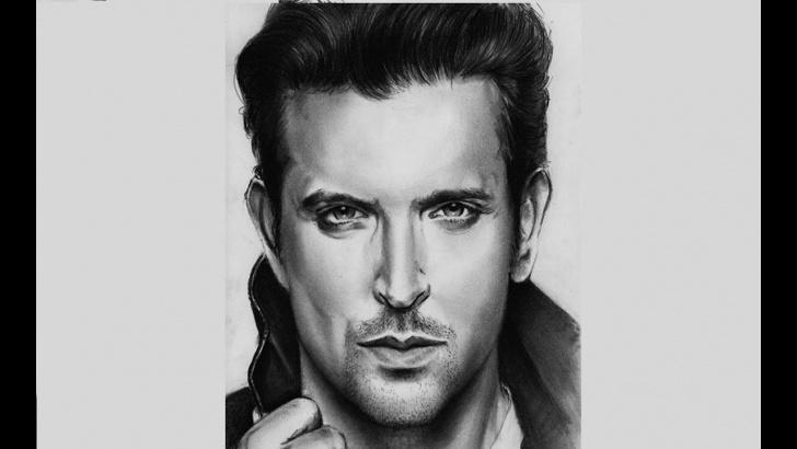 Top Hrithik Roshan Pencil Sketch Ideas Portrait Hritik Roshan With Pencil Photos