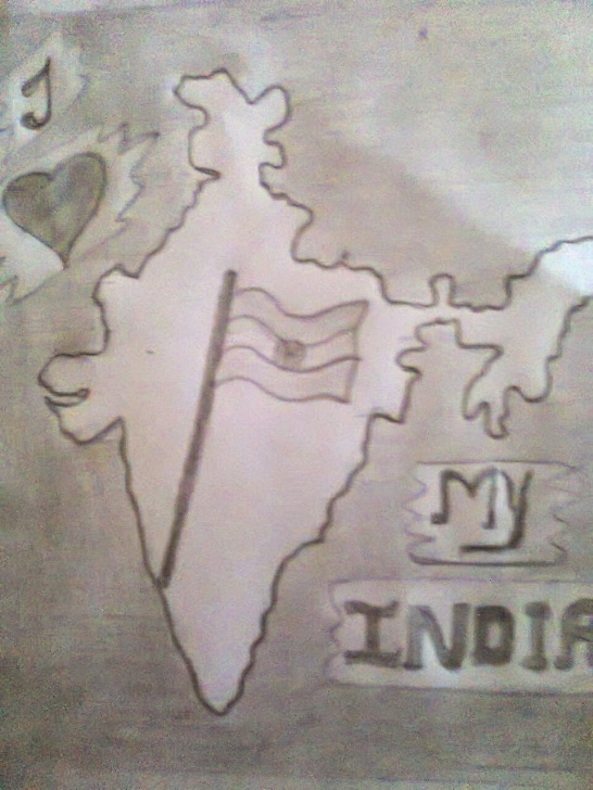 Top Independence Day Pencil Drawing Simple Pencil Sketch On Independence Day And Independence Day Pencil Sketch Pictures