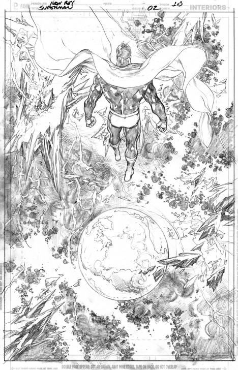 Top Ivan Reis Pencils Tutorials Superman (2018) 2 Page 10 - Ivan Reis - Pencils Only, In Chiaroscuro Pics