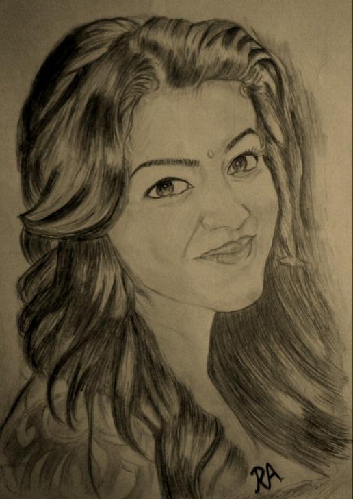 "Top Kajal Agarwal Sketch Courses Rahul On Twitter: ""@kajalagarwalfan My Pencil Sketch #fansketch Pictures"