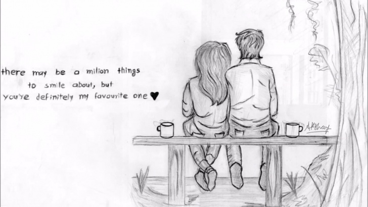 Top Love Couple Pencil Sketch Lessons Love Couple Drawing. . . Images