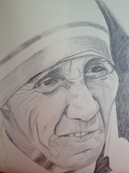 Top Mother Teresa Pencil Sketch Easy Pencil Sketch Mother Teresa | Art Inspiration | Sketches, Art, Pencil Pics