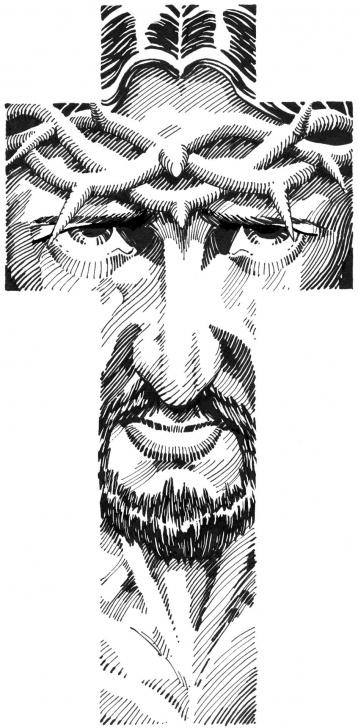 Top Religious Pencil Drawings Simple Religious Art Drawings | Scottmcdaniel - Christian Art | Art I Photos
