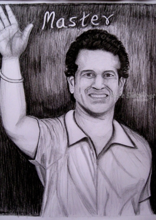 Top Sachin Tendulkar Pencil Sketch Tutorials Sachin Tendulkar Pics