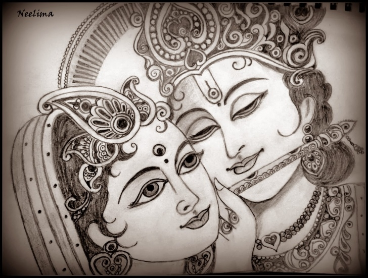 Top Serial Radha Krishna Pencil Sketch Free Radha And Krishna – Pencil Sketches – A Mythology Blog Pic