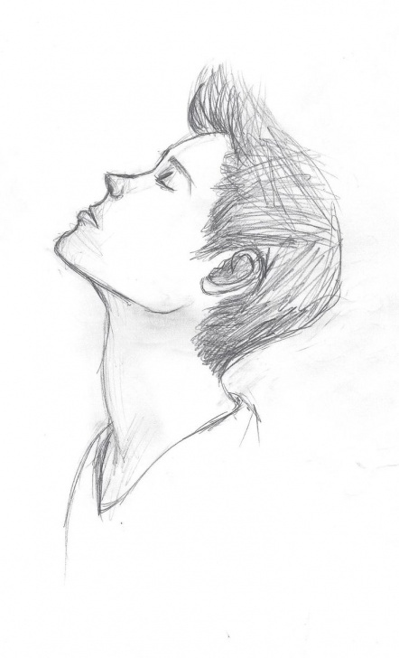 Top Sketching Alone Boys Courses Lonely Boy Sketch At Paintingvalley | Explore Collection Of Pic