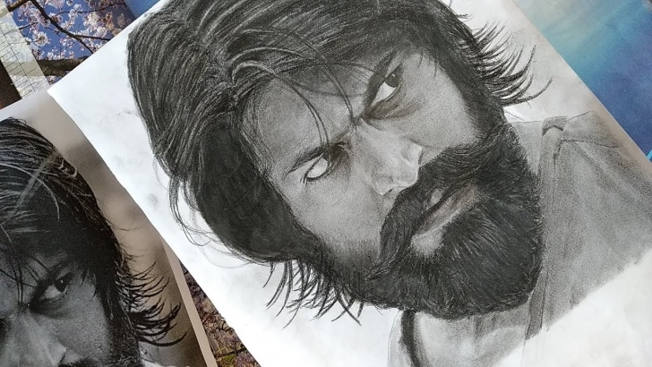 Top Yash Pencil Sketch Step by Step Drawing Yash ! | Kgf | Realistic Pencil Sketch Pictures