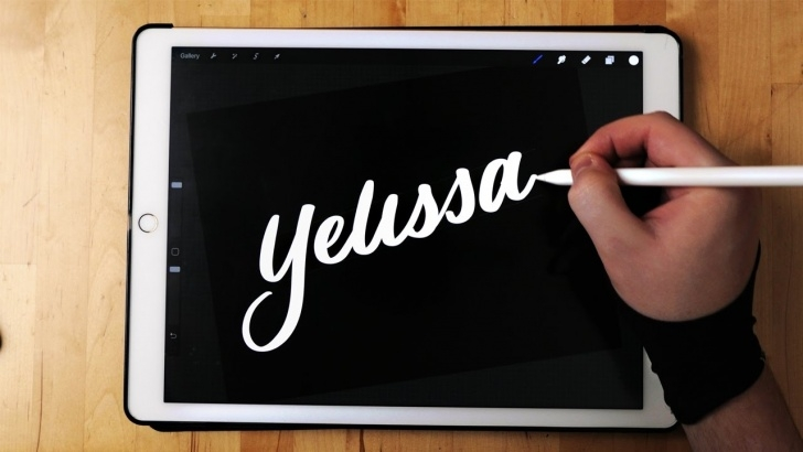 Wonderful Apple Pencil Calligraphy Lessons Brush Calligraphy On Ipad Pro | Apple Pencil Images