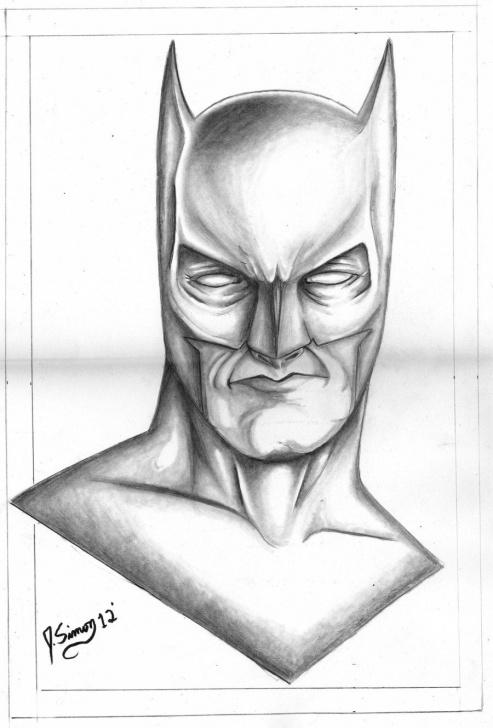 Wonderful Batman Pencil Art Tutorial Batman Drawings In Pencil | Batman Pencil Drawing By Jsimonart Pics