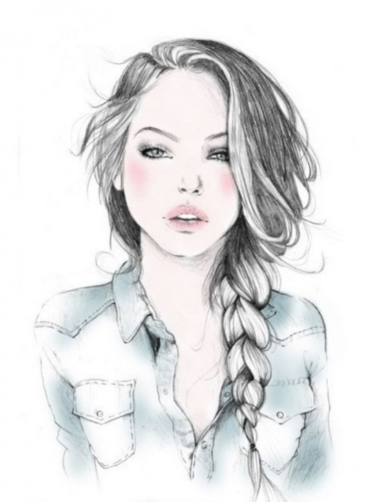 Wonderful Beautiful Lady Sketch Simple Beautiful Girl Drawing Pictures Beautiful Girl Sketch Tumblr Drawing Image