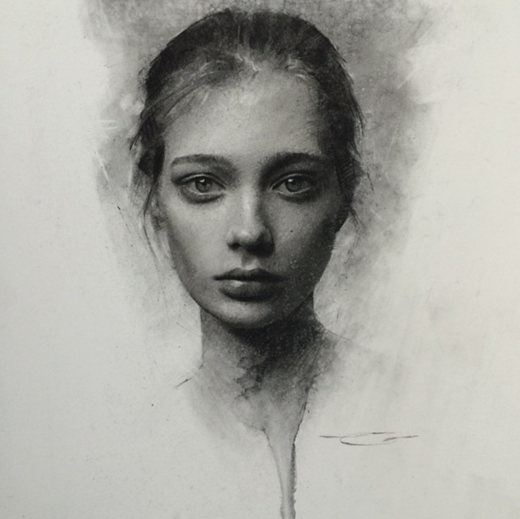Wonderful Black Charcoal Drawings Courses Beautiful Charcoal Drawings On Paper By Casey Baugh – Artpeople Pictures