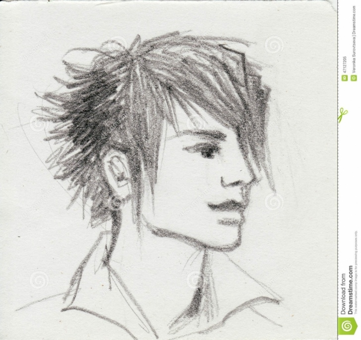 Wonderful Boy Pencil Sketch Lessons Pencil Sketch Of Boy At Paintingvalley | Explore Collection Of Image
