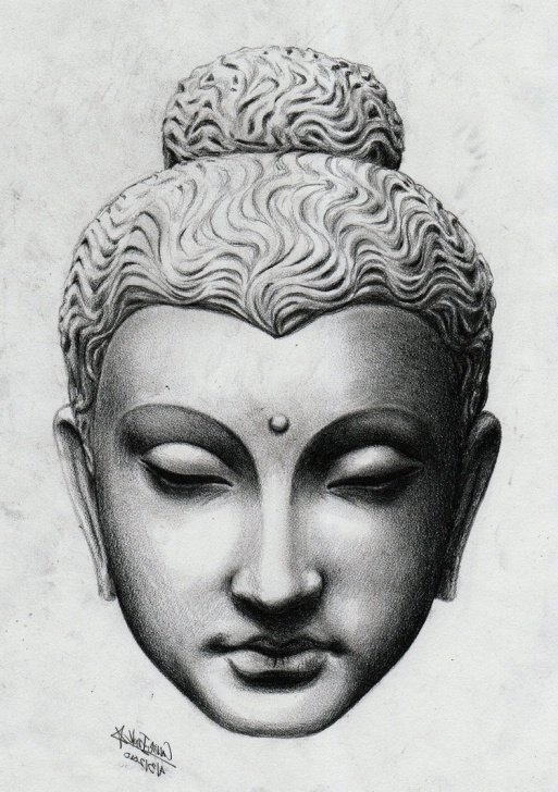 Wonderful Buddha Pencil Sketch Courses Buddha Drawing Pencil At Paintingvalley | Explore Collection Of Pictures