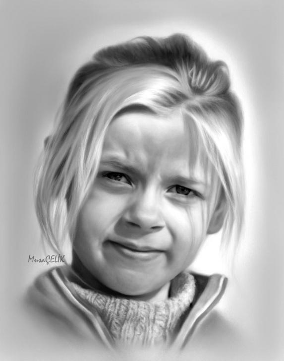 Wonderful Cool Portrait Drawings Ideas Musa Celik   Amazing Drawings   Pencil Drawings, Cool Pencil Pics