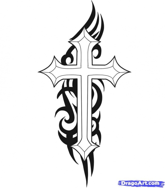 Wonderful Cross Drawings In Pencil Techniques Free Cool Pictures Of Crosses To Draw, Download Free Clip Art, Free Image
