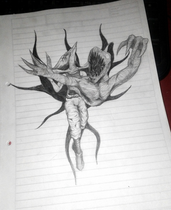 Wonderful Dark Pencil Drawings Tutorials Tokoyami/dark Shadow Pencil Drawing : Bokunoheroacademia Pictures