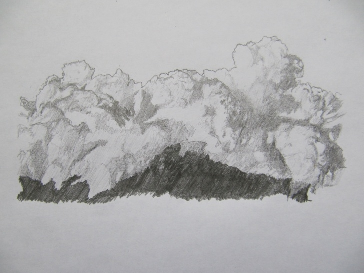 Wonderful Drawing Clouds With Pencil Step by Step Cloud Pencil Sketch At Paintingvalley | Explore Collection Of Pic