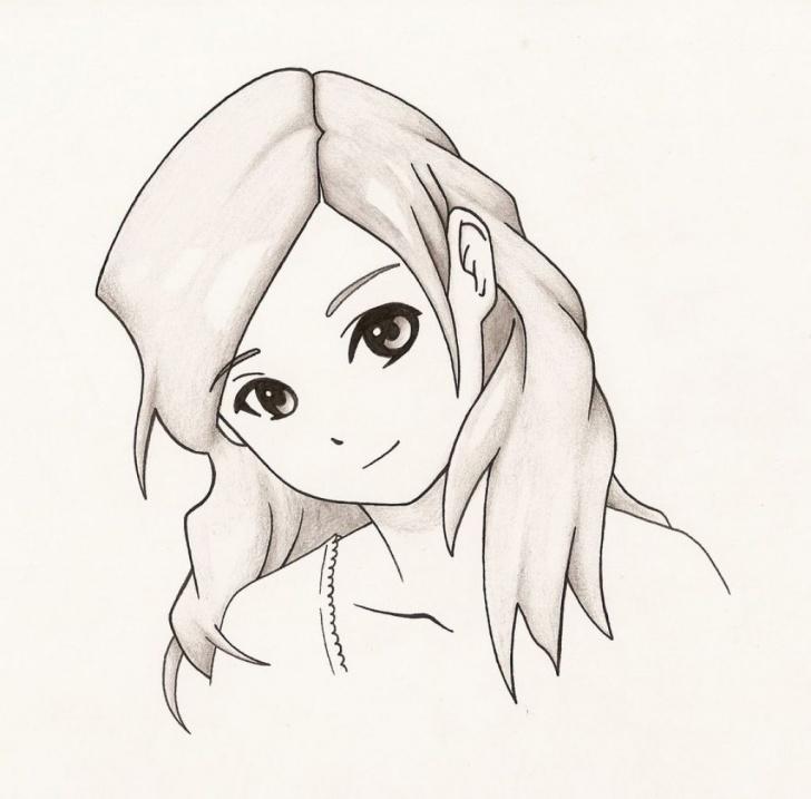 Wonderful Easy Anime Drawings In Pencil Techniques Easy Anime To Draw Easy Anime Girl Drawings In Pencil Easy Anime Picture