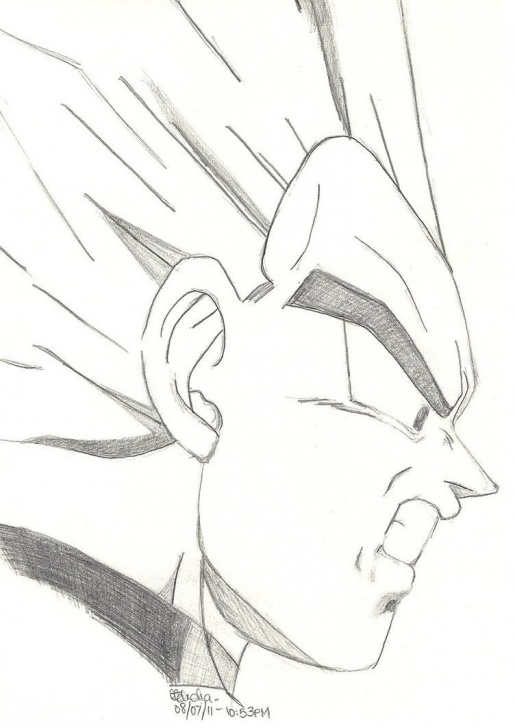 Wonderful Easy Goku Drawings In Pencil Tutorials Vegeta | Dragon Ball Z | Dragon Ball, Goku Drawing, Dragon Ball Z Photos