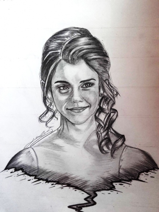 Wonderful Emma Watson Pencil Drawing Easy Pencil Sketch - Emma Watson By Ddaytrooper On Deviantart Photos