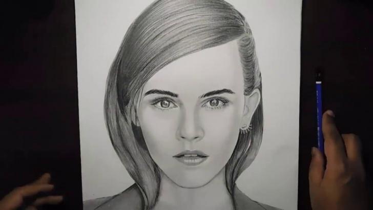 Wonderful Emma Watson Pencil Sketch Lessons Emma Watson - Pencil Sketch ( Timelapse) Pics