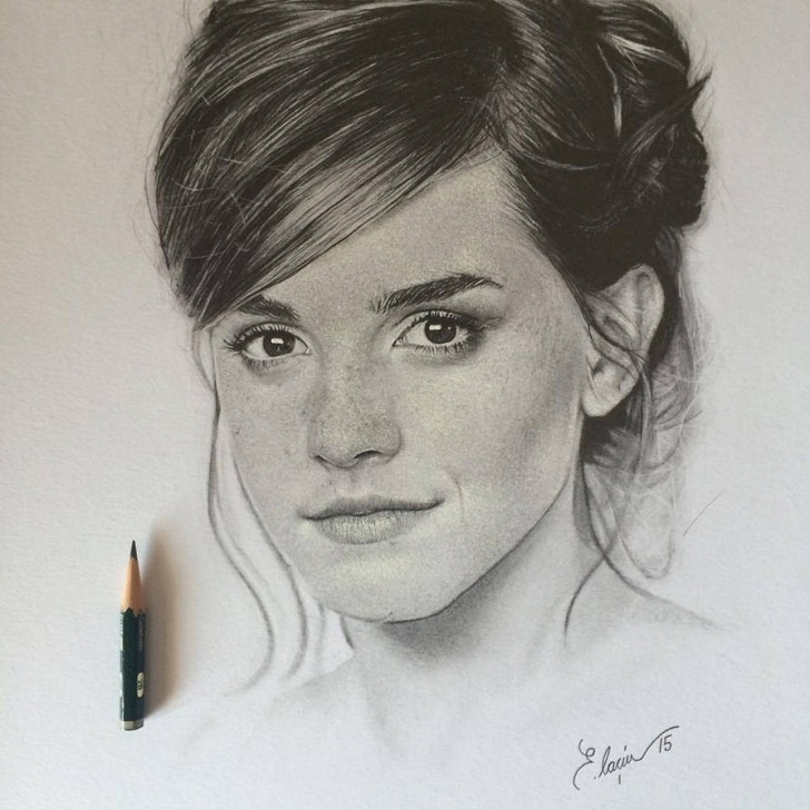 Wonderful Emma Watson Pencil Sketch Simple Emma Watson Drawing At Paintingvalley | Explore Collection Of Pictures